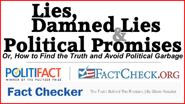 Politifact - Winner of the Pulitzer Prize